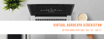 Netherlands Pavilion Virtual AgroExpo Uzbekistan