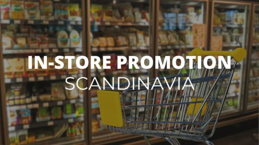 in-store promotion scandinavia
